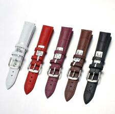 Genuine Leather Watch Band Wrist Strap Pin Buckle 12 14 16 18 20mm Quick Release