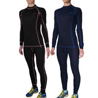 Womens Helly Hansen Dry 2 Pack Essential Baselayer Set Long Sleeve Tracksuit ...
