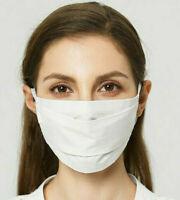 🇫🇷 Masque de Protection Lavable Norme Française AFNOR Barrière Blanc Écru