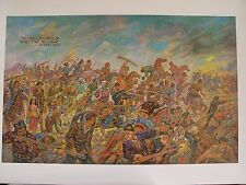 """""""SARDARABAD"""" ARMENIAN HISTORY OIL PAINTING COPY BOUGHT FROM THE ARTIST DIRECTLY"""