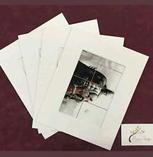 "20x  10x12"" (8X10"" Window) Professional Picture Mounts- Photo Mount Pockets"