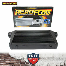 "Aeroflow 450x300x76 Alloy Intercooler Black with 3"" Inlet Outlet AF90-1001BLK"
