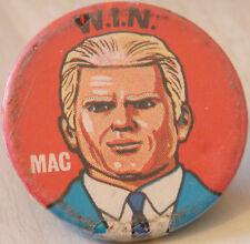 WIN MOST SECIAL AGENT MAC JOE 90 TV Series Vintage badge 31mm Gerry Anderson