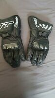 RST Blade Carbon Knuckle Sports Leather Race Motorcycle Gloves XL / 11