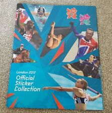 Panini LONDON 2012 OLYMPICS Sticker Empty Album - RETRO