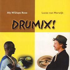 ALY N'DIAYE ROSE & LUCAS VAN MERWIJK - DRUMIX ! (2010 SIGNED CD)