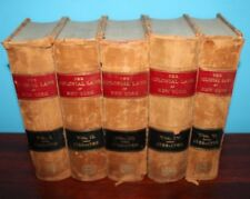 The Colonial Laws of New York from the year 1664 to the Revolution (Five Volume