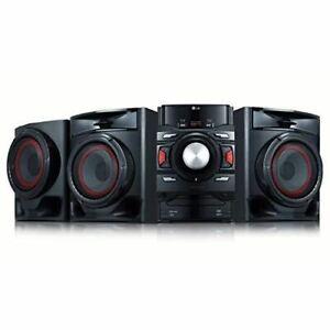 LG 700 Watts Bluetooth CD Audio Shelf System