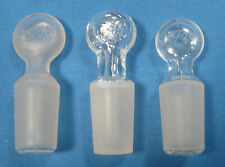 Assorted Hollow Penny Head Glass Stoppers All 1420 X3 Free Shipping Ff