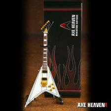 Axe Heaven Randy Rhoads Signature White Flying V Miniature Guitar Replica