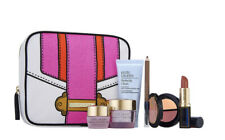 NEW Estee Lauder gift set with Makeup Bag (sealed set) 7 Pieces