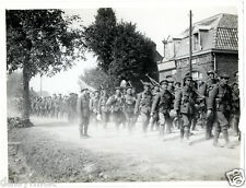 British Army 2nd Leicesters Estaires France 1915 World War 1, 5x4 Inch Photo bl