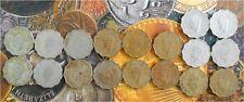 18 Coins MINT SET - 1 A - George VI 1939 1940 1941 1942 1943 1944 1945 1946 1947