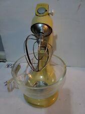 Vintage 10 Speed KitchenAid Mixer w Bowl Model 4-C Works Great!