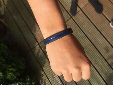 """Armband """"The Thin Blue Line""""  Blau für Polizei UNISEX"""