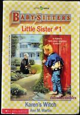 (TSL) *PB* The Baby Sitters Little Sister #1, Karen's Witch by Ann M. Martin