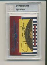 ROLLIE FINGERS 2010 Leaf Sports Icons CUT AUTO AUTOGRAPH 2/5 A'S ATHLETICS HOF *