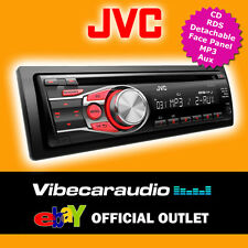 JVC KD-R331 Car CD Stereo Radio RDS Tuner Player Aux Detachable Face Plate BN