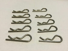 "RC Buggy and Car Body Parts 1 5/8"" 13-gauge Stainless Steel Hair Pin (10)"