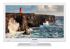 Telefunken XF22D101-W Fernseher 22 Zoll Full HD TV Triple-Tuner DVB-C/-T2/-S2