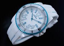BISSET BSPD47 NEON LIGHT Keramik  SWISS MADE Damenuhr Armbanduhr