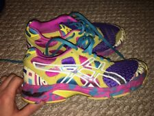 Asics T264N Gel Noosa Tri 7 Women Pink Neon Active Running Athletic Shoes Sz 6