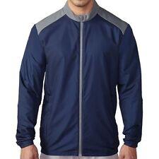 adidas Golf Mens Club Wind Jacket NavyTM5353S6 Medium NWT