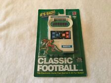 2000 Mattel Classic Football Reissue – Vintage Retro Handheld Game. Brand New