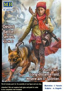 Skull Clan Long-distance raid. Kit №3.Where am I? Splinter 1/35 MasterBox 35215
