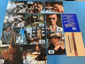 DER MANN DER VOM HIMMEL FIEL 12 Aushangfotos EA 1976 - David Bowie Nicolas Roeg