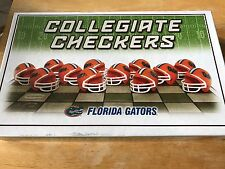 Collegiate Checkers Florida Gators -University Football Board Game Complete