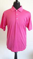 Peter Millar Men's Pink Short Sleeve Golf Polo Shirt 1908 Size Large