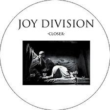 CHAPA/BADGE JOY DIVISION Closer . ian curtis bauhaus killing joke echo bunnymen