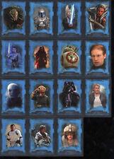 Star Wars 2016 Masterworks Blue Parallel Card #13 Jabba the Hutt