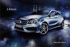 Prospekt 2012 mercedes clase a 176 auto folleto 27.2.12 brochure auto automóviles 6 12