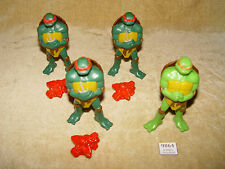 Teenage MUTANT NINJA TURTLES TMNT 4x 2007 MCDONALDS Action Figure 3 RAF 1 Mike