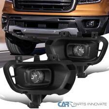 Para el 19-20 Ford Ranger Claro Parachoques Delantero Lámparas Luces antiNiebla Par + Interruptor de conducción