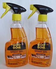 2 Goo Gone Spray Gel Citrus Power Removes Sticky Gummy Gooey Problems 12 Fl Oz