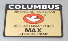 Columbus MAX Frame Decal - Black Border (sku colu818)