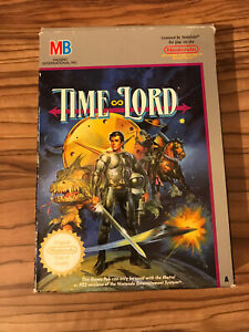Time Lord Nintendo NES Box Only PAL A