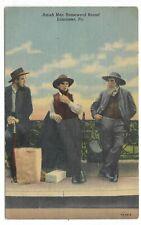 LANCASTER, PENNSYLVANIA Amish men