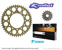 Yamaha R6 Gold Chain and Renthal Sprocket kit - YAMAHA R6 (2006-2015)