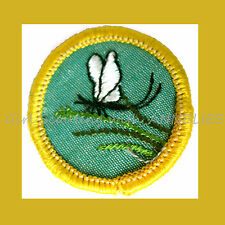 INSECT Animal Kingdom Cadette Girl Scout NEW Badge 1960 Mayfly Multi=1 Ship Chg