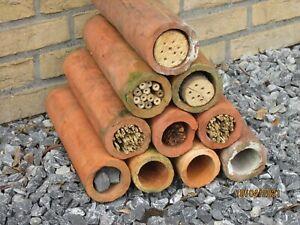 Tonrohr, Deko, für Insektenhotel, Kleintiere, Fische Preis pro Rohr