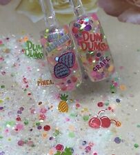glitter mix acrylic gel nail art   DUM AND DUMMER 🥴limited edition
