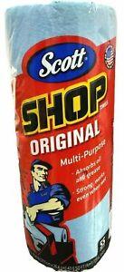 Scott Blue Original Multi Purpose Shop Towels/Sealed 55Papr Sheets per Roll75130