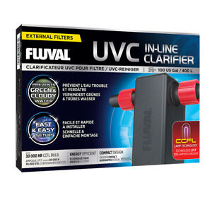 Fluval Uvc in-Line Clarifier - Uvc Clearer With Ccfl-Lamp Technology Novelty