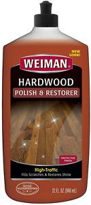 Weiman Wood Floor Polish and Restorer - 32 Ounce - High-Traffic Hardwood Floor