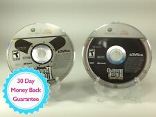 Xbox 360 Lot: Guitar Hero II & III Discs Only Tested/Works! Free US Ship