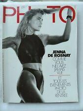 PHOTO  MAGAZINE N° 241 OCTOBRE 1987 JENNA DE ROSNAY